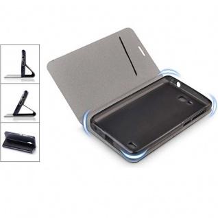 Flip / Smart Cover Schwarz für Samsung Galaxy S9 G960F Schutz Etui Tasche Hülle - Vorschau 3