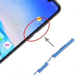 Für Xiaomi Redmi Note 6 Pro Sidekeys Seitentasten Blau Ersatz Zubehör Reparatur