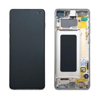 Samsung Display LCD Komplettset GH82-18849B Prism Weiß für Galaxy S10 Plus G975 - Vorschau 2
