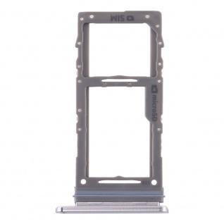 Sim / Micro SD Karten Halter für Samsung Galaxy Note 10 Plus Grau