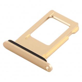 Für Apple iPhone XR 6.1 Zoll Sim Karten Halter Gold SD Card Ersatzteil Zubehör - Vorschau 3