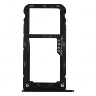 Für Xiaomi Redmi Note 5 Karten Halter Sim Tray Schlitten Holder Ersatz Schwarz