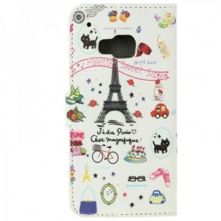 Schutzhülle Muster 74 für HTC One 3 M9 2015 Tasche Cover Case Hülle Etui Schutz - Vorschau 3
