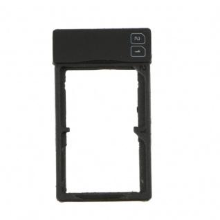Simkarten Halter Sim Card Tray für OnePlus Two Sim Schlitten Zubehör Schwarz Neu - Vorschau 3