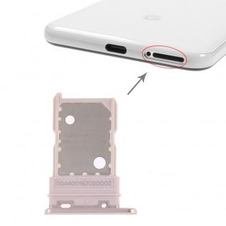 Für Google Pixel 3 Ersatzteil Simkartenhalter Card Tray Halter Sim Gold Neu