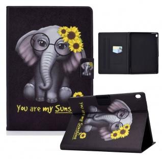 Für Lenovo Tab M10 10.1 Motiv 1 Tablet Tasche Kunst Leder Hülle Etuis Cover Case