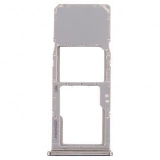 Sim Karten Halter für Samsung Galaxy A70 Silber Card Tray Micro SD Ersatzteil - Vorschau 2
