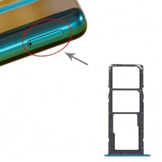Für Huawei P Smart 2021 SIM + SIM Card Tray + Micro SD Karten Halter Grün Ersatz