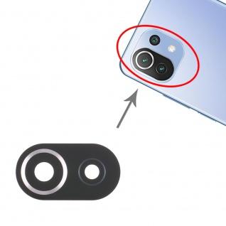 Kamera Linsen Abdeckung für Xiaomi Mi 11 Lite Ersatzteil Reparatur Schwarz
