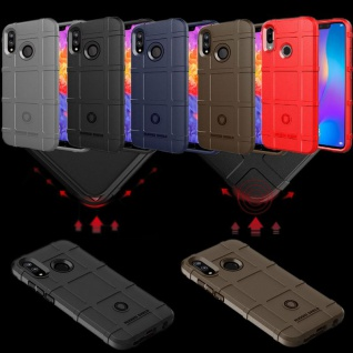 Für Huawei P Smart Plus Shield Series Outdoor Rot Tasche Hülle Cover Schutz Neu - Vorschau 2