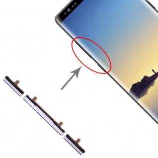Für Samsung Galaxy Note 8 Sidekeys Seitentasten Grau Ersatz Zubehör Reparatur