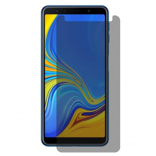 Für Samsung Galaxy A7 2018 0.26 mm Privacy Anti glare Hartglas Display Schutz