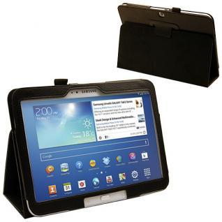Schutzhülle Schwarz Hülle Case für Samsung Galaxy Tab 3 10.1 P5200 P5210 + Folie