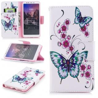 Tasche Wallet Book Cover Motiv 37 für Xiaomi Redmi 5 Hülle Case Etui Schutz Neu