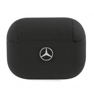 Mercedes Apple Airpods Pro Cover Schwarz Schutzhülle Tasche Case Etui Halter
