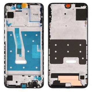 Gehäuse Rahmen Mittelrahmen Deckel für Huawei P Smart 2019 Schwarz Reparatur Neu