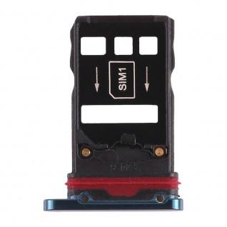 Für Huawei Mate 20 Pro Karten Halter Sim Card Tray Schlitten Holder Grün Ersatz