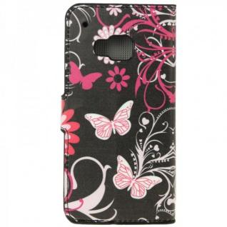 Schutzhülle Muster 4 für HTC One 3 M9 2015 Tasche Cover Case Hülle Etui Schutz - Vorschau 4