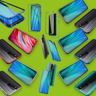 Beidseitiger Magnet / Glas Bumper Handy Tasche Etuis Case Hülle für Smartphones