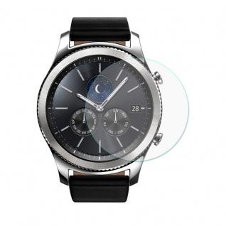 Prem. 0, 2 mm Panzerfolie Schock Folie für Samsung Gear S3 Smart Watch Hartglas