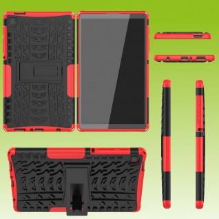 Für Samsung Galaxy Tab A7 Lite 2021 8.7 Hybrid Rot Tablet Tasche Etuis Hülle Neu
