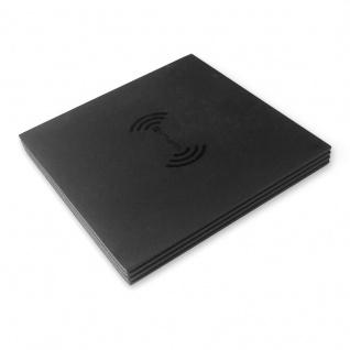 Universal Induktive Ladestation VoltBeam 5W Wireless Charger Ladegerät schwarz