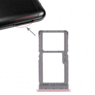 Sim Card Tray für Xiaomi Redmi Note 6 Pro Karten Halter Holder Ersatz Rose Gold