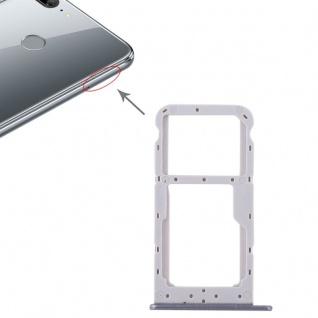 Für Huawei Honor 9 Lite Karten Halter Sim Tray Schlitten Holder Grau Ersatz Neu