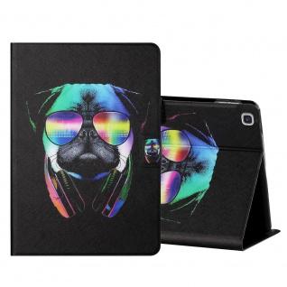 Für Samsung Galaxy Tab S6 Lite Motiv 5 Tablet Tasche Kunst Leder Hülle Etuis Neu