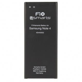 FIX4Smarts Akku für Samsung Galaxy Note 4 N910F ersetzt EB-BN910BBÈ Batterie Neu