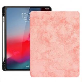 Smartcover Pink für Apple iPad Pro 11.0 Zoll 2018 Tasche Hülle Pen Case Zubehör