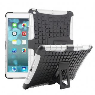 Hybrid Outdoor Schutzhülle Cover Weiß für Apple iPad Air Tasche Case Hülle Neu