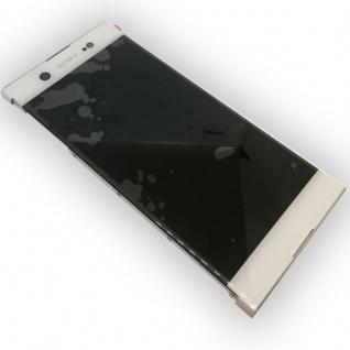 Sony Display LCD Komplett mit Rahmen für Xperia XA1 Ultra G3212 Weiß Ersatz Neu - Vorschau 2
