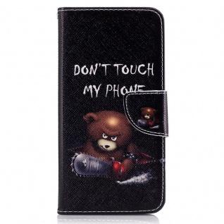 Schutzhülle Muster 20 für Huawei P10 Plus Bookcover Tasche Case Hülle Wallet Neu