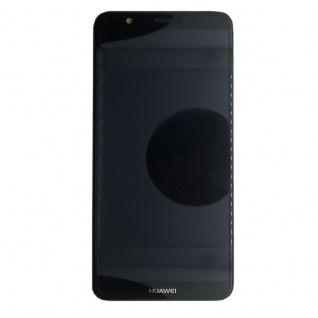 Huawei Display LCD Rahmen für P Smart Service Pack 02351SVJ Schwarz Reparatur - Vorschau 3