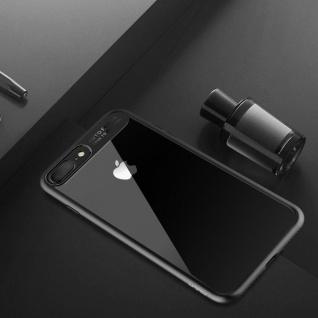 Original ROCK Bumper Case für Apple iPhone 7 Plus / 8 Plus Tasche Hülle Schwarz