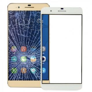Displayglas Glas Schutz Weiß für Huawei Honor 6 Plus Reparatur Ersatz Zubehör