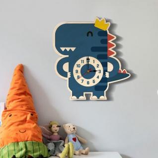 Kreative Cartoon Design Wand Uhr Dinosaurier Wall Clock Accessoires