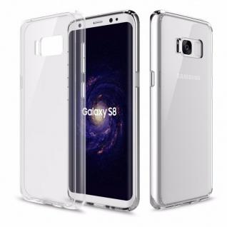 Original ROCK Silikon Case Tasche Transparent für Samsung Galaxy S8 G950F Hülle