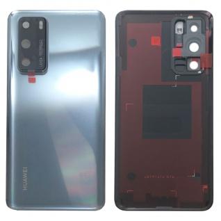 Huawei Akkudeckel Akku Deckel Batterie Cover Silber für P40 02353MGF Ersatz Neu