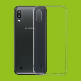 Für Samsung Galaxy M10 Silikoncase TPU Schutz Transparent Tasche Hülle Etuis Neu