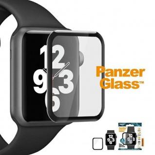 Für Apple Watch Series 4/5/6/SE 44mm H9 Hart Glas Schwarz Folie Schutz