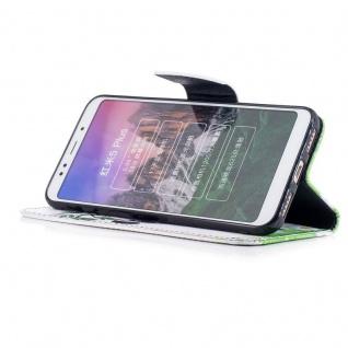 Für Huawei P20 Kunstleder Tasche Book Motiv 34 Schutz Hülle Case Cover Etui Neu - Vorschau 3