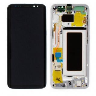 Display Full LCD Komplettset GH97-20457B Silber für Samsung Galaxy S8 G950 F Neu