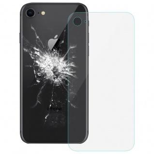 Ersatz Scheibe Backcover Transparent für Apple iPhone 8 4.7 Reparatur Ersatz Neu