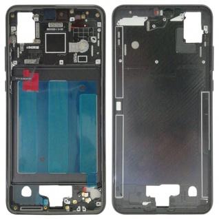 Gehäuse Rahmen Mittelrahmen Deckel für Huawei P20 Schwarz Reparatur Ersatz Neu