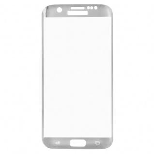 0, 3 mm H9 gebogenes Panzerglas Silber Folie für Samsung Galaxy S7 Edge G935 F