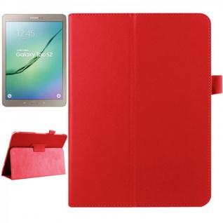 Schutzhülle Rot Tasche für Samsung Galaxy Tab S2 9.7 SM T810 T815N Hülle Case