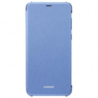 Original Huawei Flip Cover Blau für Enjoy 7S / P Smart Etui Tasche Hülle Case