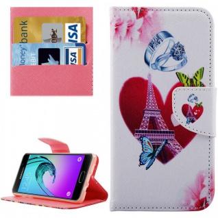 Schutzhülle Muster 73 für Samsung Galaxy A3 2016 A310F Tasche Cover Case Hülle